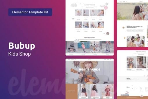 Bubup-Theme-Kids-Store-And-Baby-Shop-Elementor-Template-Kit