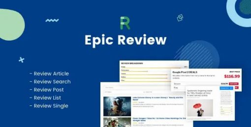 Epic Review Page Builder