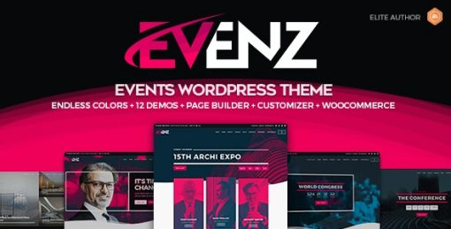 Evenz-Wordpress-Theme - Conference and Event