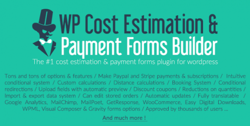 WP Cost Estimation And Payment Form Builder