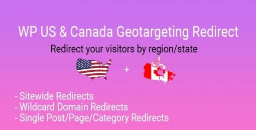 WP US And Canada State Geotargeting Redirect