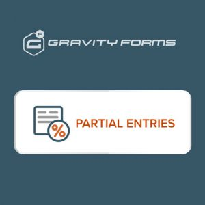 Gravity Forms Partial Entries Addon