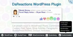 Reactions WordPress Plugin