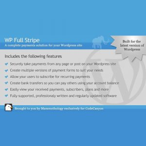WP Full Stripe – Subscription and payment plugin for WordPress