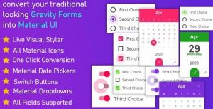 Gravitizer – Gravity Forms Material UI Styler
