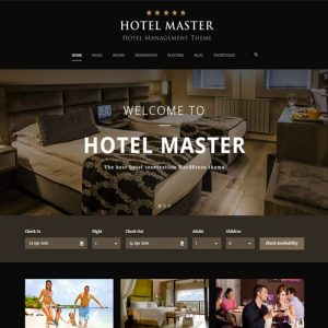 Hotel WordPress Theme For Hotel Booking | Hotel Master