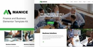 Manice – Business Template Kit