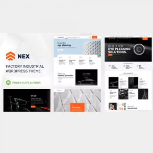 Nex – Factory & Industrial WordPress