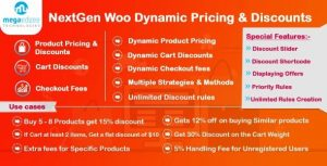 NextGen – WooCommerce Dynamic Pricing and Discounts