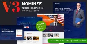 Nominee – Political WordPress Theme