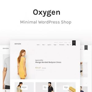 Oxygen – WooCommerce WordPress Theme