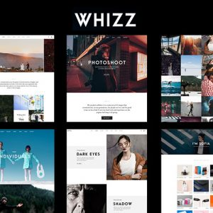 Whizz | Photography WordPress for Photography