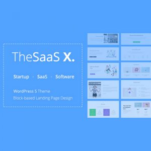 TheSaaS X – Responsive SaaS, Startup & Business WordPress Theme
