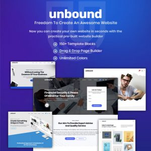 Unbound – Business Agency Multipurpose Theme