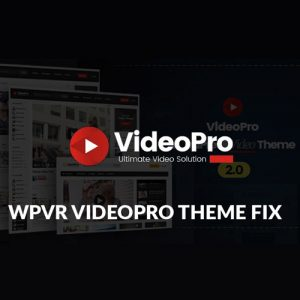 VideoPro – Video WordPress Theme