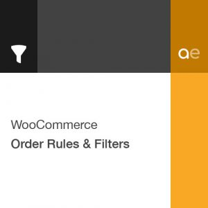 WooCommerce Order Rules & Filters