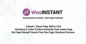 WooInstant – WooCommerce Instant Checkout