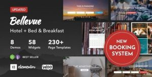 Bellevue – Hotel + Bed and Breakfast Booking Calendar Theme