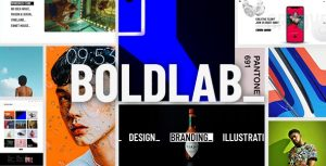 Boldlab - Creative Agency WordPress Theme