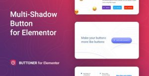 Buttoner - Multi-shadow Button for Elementor