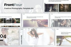 FrontFour - Creative Photography Template Kit