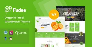 Fudee - Organic Food WordPress Theme
