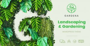 Gardena - Landscaping & Gardening WordPress Theme