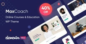 MaxCoach - Online Courses & Education WP Theme