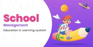 School Management - Education & Learning Management system for WordPress