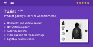 Twist - Product Gallery Slider for Woocommerce