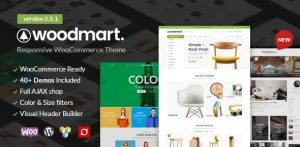 WoodMart - Responsive WC Themes For WordPress