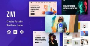 Zivi - Contemporary Creative Agency Theme