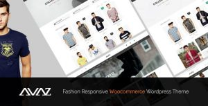 Avaz - Fashion Responsive WooCommerce WordPress Theme