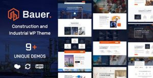 Bauer | Construction and Industrial WordPress Theme