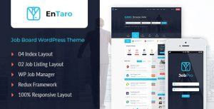 Entaro - Job Portal WordPress Theme