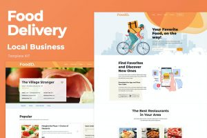 Food Delivery - Local Business