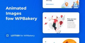 Lottier - Lottie Animated Images for WPBakery