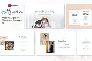 Menica - Wedding Elementor Template Kit