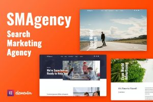 SMAgency - SEO Marketing Agency Elementor Template Kit