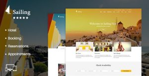Sailing Hotel | Hotel WordPress Theme
