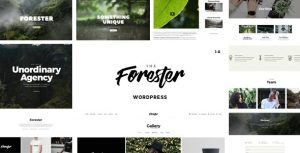 The Forester - Elementor Portfolio Theme