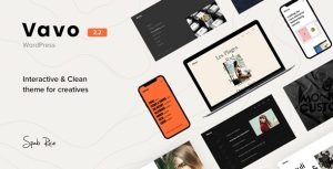 Vavo - An Interactive & Clean Theme for Creatives