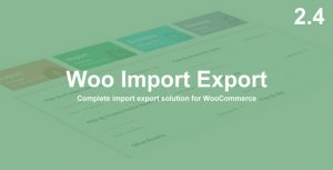 Woo Import Export WordPress Plugin