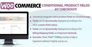 WooCommerce Conditional Product Fields at Checkout