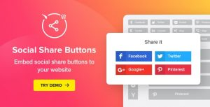 WordPress Share Buttons plugin - Social Media Buttons