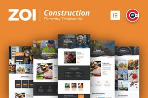 ZOI - Construction Elementor Template Kit