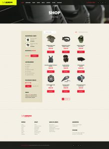 Adrena | Airsoft Club & Paintball WordPress Theme
