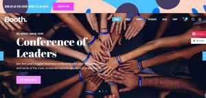 Booth - Event and Conference Theme