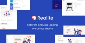 Realite - A WordPress Theme for Startups